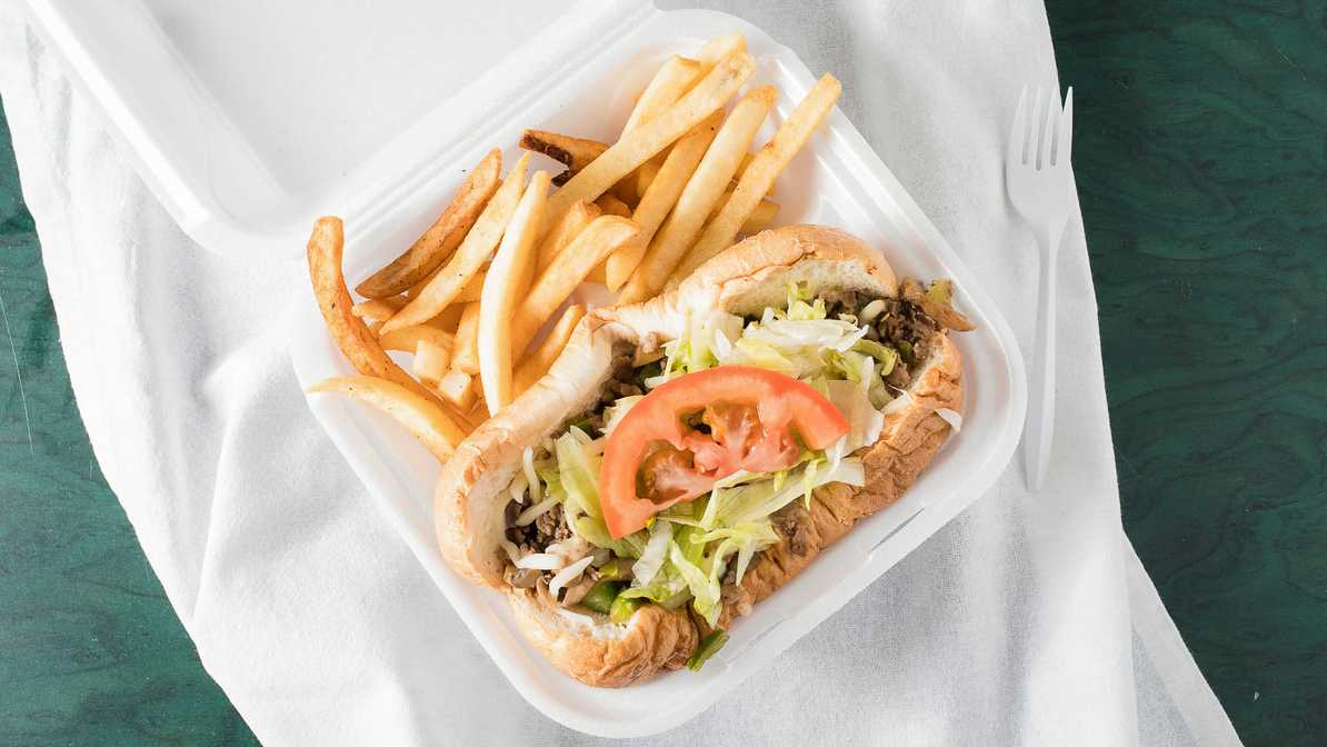 Super Philly Steak with Fries