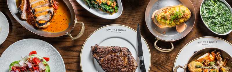 Swift & Sons Steakhouse/Cold Storage Oyster Bar