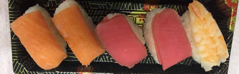 Rakhapura Mutee and Sushi