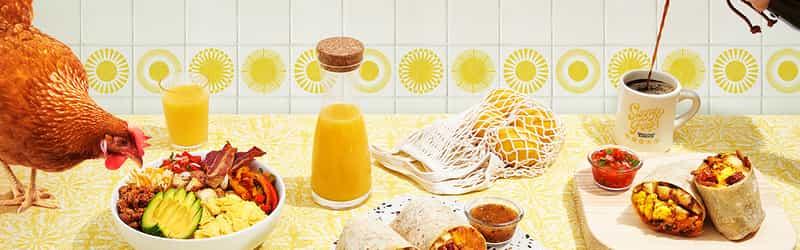Sunny & Fine's Breakfast Burritos