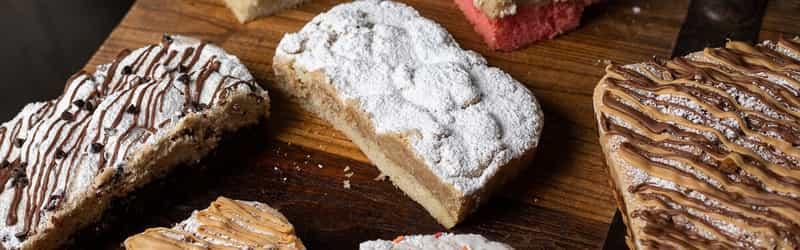 Sugar Rush Crumb Cakes
