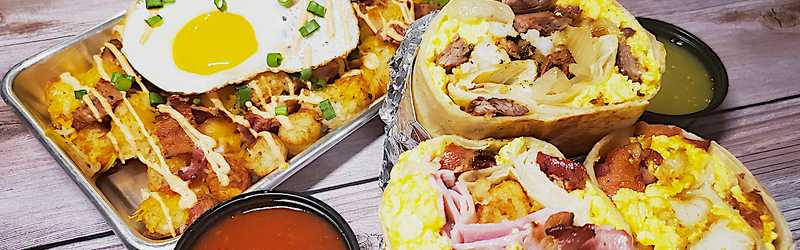 Toasty's Breakfast Burritos
