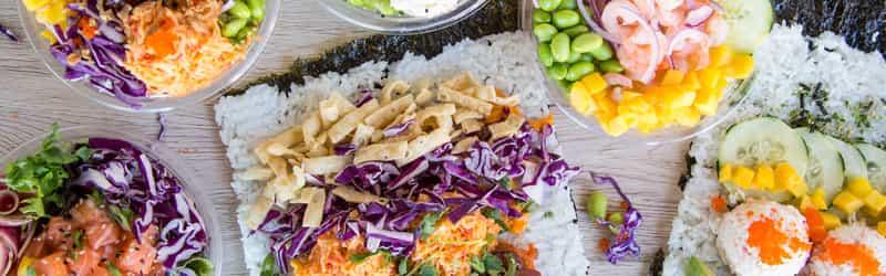 Pokitrition - Sushi Burritos & Poke