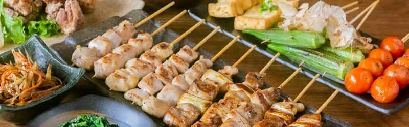 Zakkushi Charcoal Grill