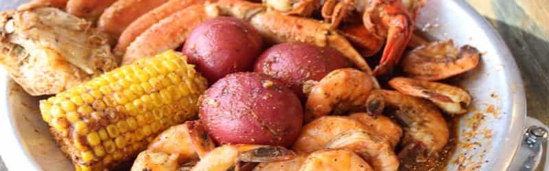 Juicy Snow Crab & Lobster