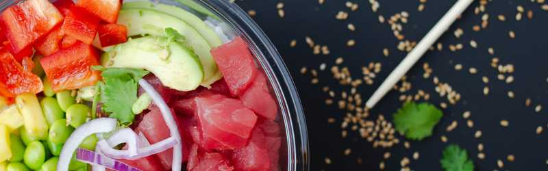 Poke Express Delivery & Takeout | 1509 North Pines Road ...