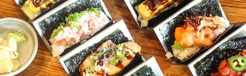 Sushi de Handroll