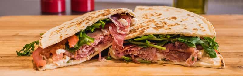 La Piadina Italian Flatbread Sandwiches