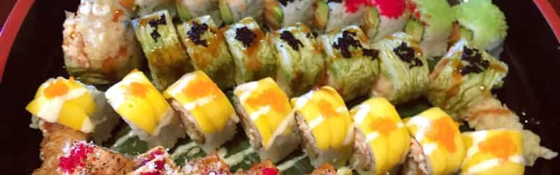 Sake garden sushi restaurant