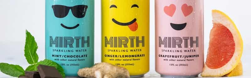 Mirth Sparkling Water